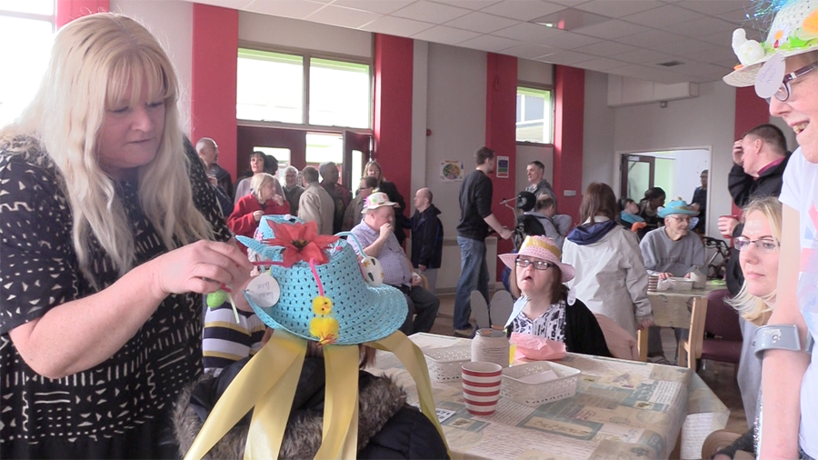 Easter Bonnets making