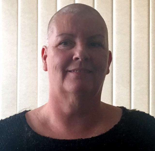 Cath Connolly head shaved
