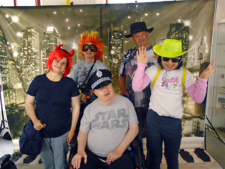 Leeds Learning Disability Week 2017 dress up