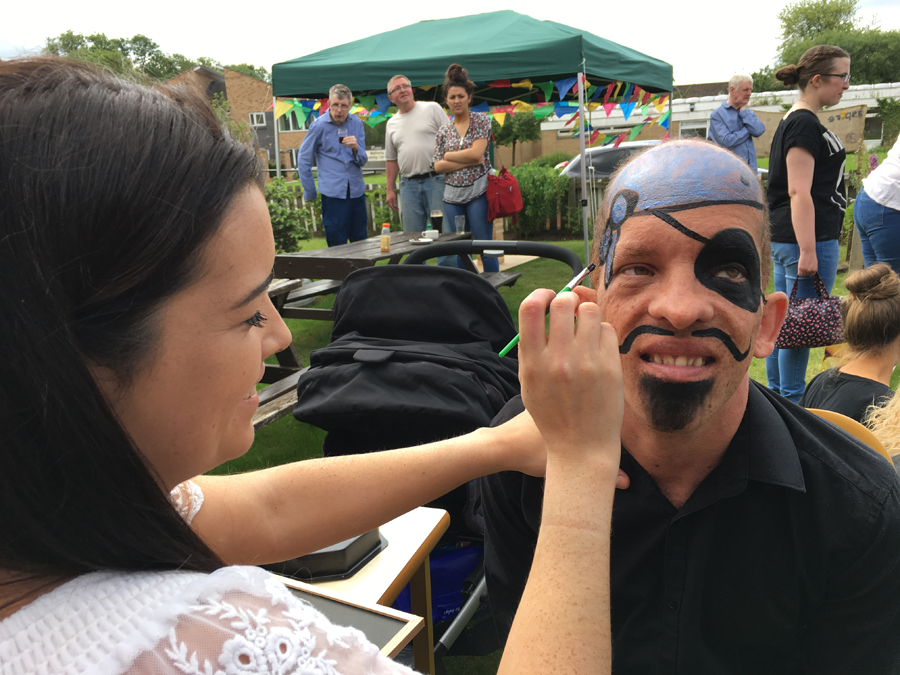 Leeds Learning Disability Week 2017 face painting