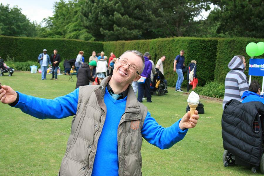 Leeds Learning Disability Week 2016 icecream