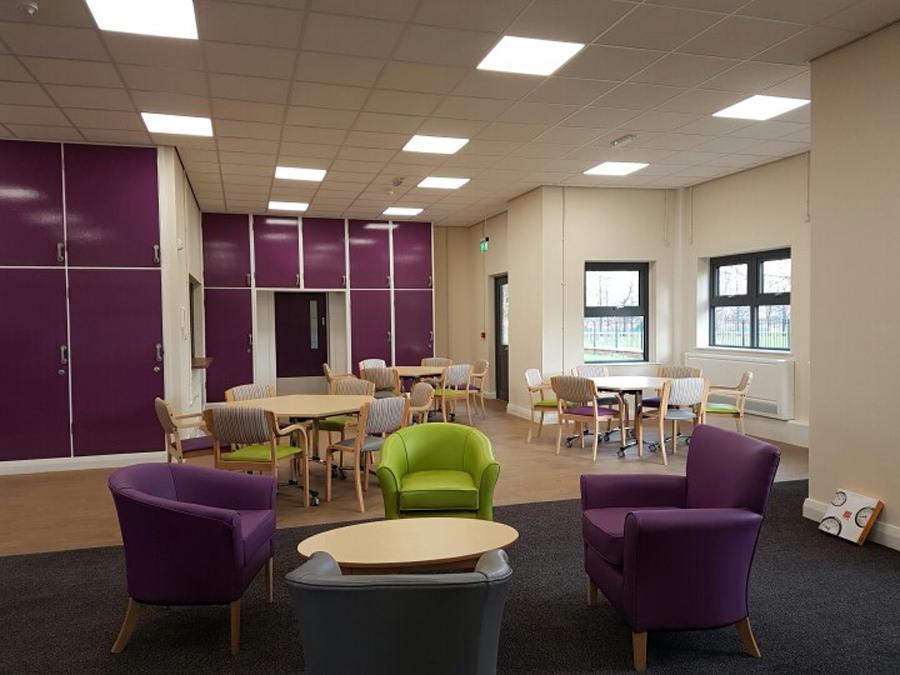 Potternewton seating area