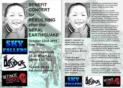 Benefit for Nepal